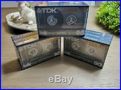 (1) VTG TDK MA-XG 90 Min. Cassette MIUP FLAWLESS & FACTORY-SEALED