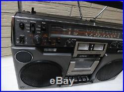 AIWA TPR-950E Boombox vintage Cassette/recorder Stereo Boombox 1980