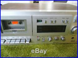 AKAI GX-M50 3-Head Stereo Cassette Deck / Recorder Japan Super Gx Vintage