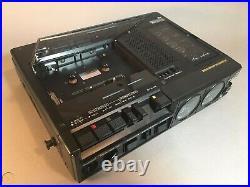 Clean Vintage Marantz PMD420 Performance Portable Cassette Deck Player Recorder