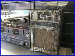 EXPO KC-77 Stereo Retro Boombox Vintage Radio Cassette Recorder RARE