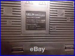 Helix HX-4636 BOOM BOX vintage Cassette Recorder Short Wave Radio Ghetto Blaster