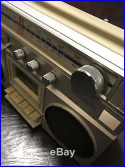 JC Penny am/fm stereo cassette recorder Boombox 80s Vintage Ghettoblaster