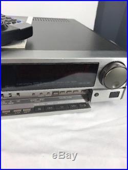 JVC HR-S6600U Super VHS Video Cassette Recorder VCR Vtg Made In Japan With REMOTE