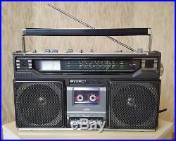 JVC RC-636L Vintage 1978y Boombox Cassette Recorder Ghettoblaster
