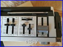 JVC RC-838JW Mark ll Vintage Boombox Cassette Recorder Ghettoblaster