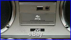 JVC RC-M70JW Vintage Boombox (radio, cassette player, recorder)