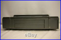Jvc Rc-m50jw Stereo Radio Cassette Recorder Portable Boombox Vintage