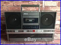 National Sg-j500 Vintage Cassette Player Tape Deck Radio Record Turntable Deck
