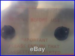 New Mint Yorx K6060 Stereo Cassette Recorder 8 Track Player Vintage Electronics
