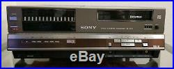 New Vintage SONY SL-5010 Betamax Video Cassette Recorder Never Been Plugged In