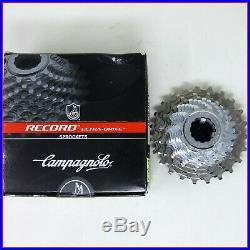 Nos Campagnolo Record Titanium 10 Speed Cassette Sprockets Vintage 11-23 Road
