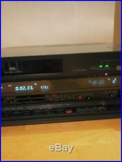 Panasonic AG-1950 Stereo HiFi VHS VCR Video Cassette Recorder Player GX4 Vintage