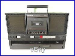 Panasonic SG-J550L Vintage Stereo Boombox Vinyl Record Cassette Player Radio