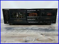 Pioneer CT-WM77R 6+1 Multi-Changer Cassette Deck Recorder Vintage Rare Tested