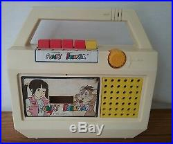 Punky Brewster Cassette Player Recorder Works 1980's Vintage Rare T. V. Show
