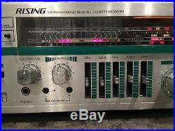 RISING Receiver Vintage SWithMWithFM Stereo Cassette Recorder STR-S1022