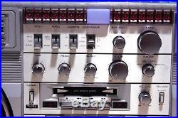 Riviera PST-10000 VINTAGE UNIQUE RADIO CASSETTE RECORDER MADE IN JAPAN (1983)