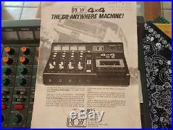 Ross 4x4 Vintage 4-Track Mixer/Cassette Recorder Vintage