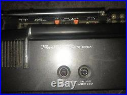 SANYO M-9998K Stereo Boombox Cassette Recorder Vintage Boombox