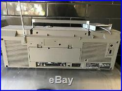 SHARP GF 5000 Stereo Retro Boombox Vintage Radio Cassette Recorder