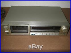 SONY TC-K555 Stereo Cassette Recorder & Player HiFi rare vintage