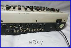 Sansui WS-X1, 6 Track Cassette Recorder, 8 Channel Mixer, Vintage, AS IS