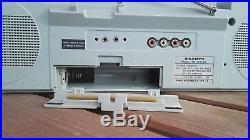 Sanyo Ghettoblaster Boombox M 7740 Radio Cassette Recorder Vintage Cube
