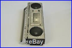 Sanyo M7700LE Radio Cassette Recorder Vintage BOOMBOX for RESTORATION Japan