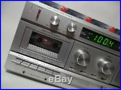 Sears Vintage Compact Stereo System AM/FM 8 Track, Turntable Cassette recorder