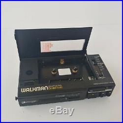Sony WM-D6C Professional Walkman Stereo Cassette Corder Tape Player Recorder Vtg
