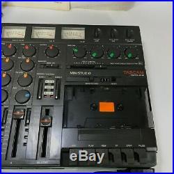 TASCAM Vintage Porta One Ministudio 4-Track Cassette Recorder Read Description