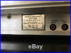 Tandberg TCD-300 vintage cassette recorder