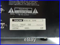 Tascam 134 134B Syncaset Professional Studio 4 Track Cassette Deck Recorder Vtg