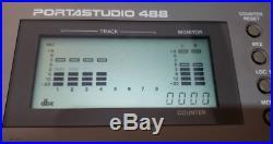 Tascam 488 Vintage 8 Track Portastudio Cassette Tape Recorder TESTED