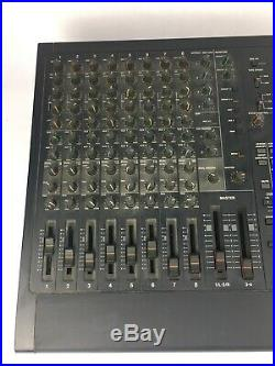 Tascam 644 Midistudio 4 Track Cassette Recorder, 8 Ch Mixer Vintage, As Is