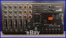 Tascam Porta 05 HS Vintage 4 Track Cassette Tape Recorder Multitrack Mixer 1987