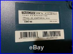 Tested! MINT Vintage TASCAM Portastudio 414 4-track Cassette Recorder