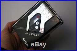 Ultra rare vintage AIWA HS-J08 CASSETTE PLAYER METAL RECORDER HI-FI WALKMAN sony