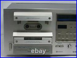 VINTAGE PIONEER CT-F950 3 Head Cassette Tape Player Recorder Silverface Tested