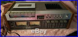 VINTAGE TEAC 450 Cassette Tape Player Recorder Deck
