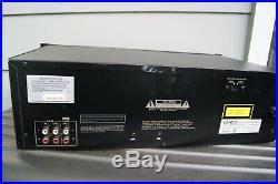 VINTAGE used TASCAM CD-A500 CD PLAYER RECORDER CASSETTE DECK rack mount GUC