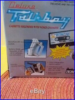 VTG Deluxe Talkboy Cassette Player Tape Recorder Home Alone 2 Brand New 83-506