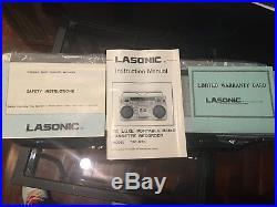 VTG Lasonic de luxe portable radio cassette recorder Model TRC-920