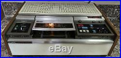 Vintage 1972 Sony U-Matic VO-2600 Video Cassette Recorder Rare, Tested see desc