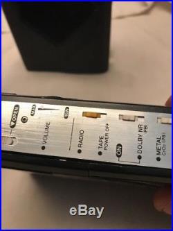 Vintage AIWA HS-J500 Cassette Player Recorder & Radio Walkman Auto Reverse Rare