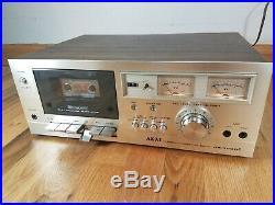 Vintage AKAI CS-702D Cassette Recorder Player Stereo Tape Deck