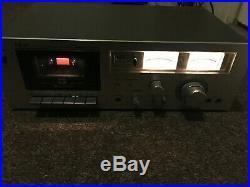 Vintage AKAI STEREO CASSETTE PLAYER RECORDER MODEL GXC-706D Japan Made