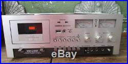 Vintage Akai GXC-730D Auto Reverse Stereo Cassette Player Recorder Working