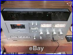 Vintage Akai Gxc-570d Cassette Recorder Works